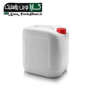 گالن 10 لیتری صنعتی سفید